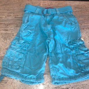 Men's blue jordan Craig cargo shorts